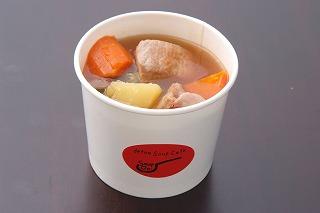 春キャベツと豚肉のスープ